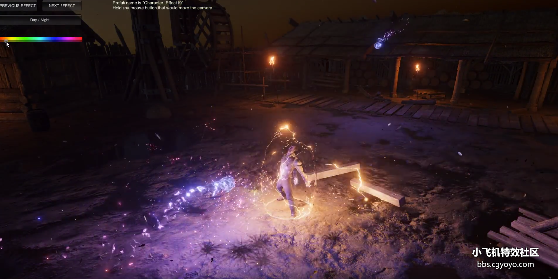 Unity3d Magic Effects Pack 1 (AssetStore demo)
